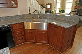 Perfect Custom Rustic Kitchen Cabinets With Intended Decorating - Rustic cherry kitchen cabinets