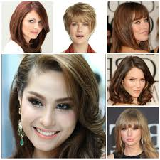 rectangle face shape hairstyles five gigantic influences of oval face shape hairstyles oval face