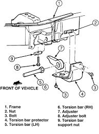 ford explorer torsion bar how to crank the torsion bars on a ford ranger for more lift