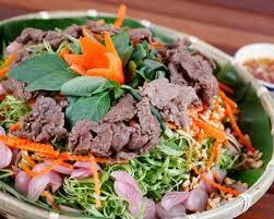cuisine az com plat recette bo bun salade de boeuf à la vietnamienne