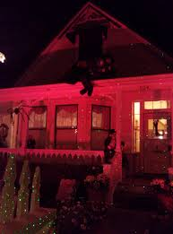 laser starfields for halloween yard displays in nevada city