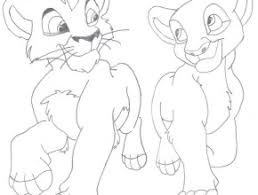 cute lion king coloring pages