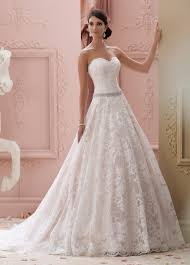jeweled wedding dresses strapless lace jeweled belt gown wedding dress 115226 suri
