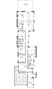 24 best narrow lot house designs images on pinterest ardross single storey narrow home design floor plan western australia