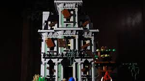 lego halloween haunted house horror movie youtube