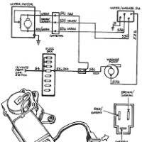 wiring diagram windshield wiper motor yondo tech