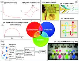 electrochemistry biosensors and microfluidics a convergence of