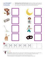 letter m worksheets for kindergarten free worksheets library