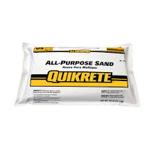 Lowes Polymeric Paver Sand by Quikrete 50 Lb All Purpose Sand 115251 The Home Depot