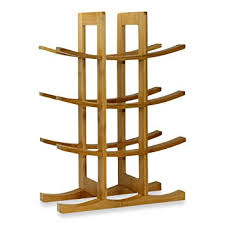amazon com oceanstar wr1132 12 bottle natural bamboo wine rack