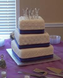 royal purple and royal blue wedding cake cakecentral com
