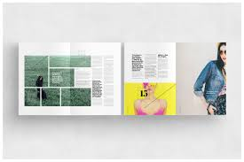 layout template en français fashion magazine template on behance