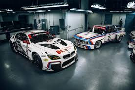 bmw race cars bmw reveals m6 gtlm anniversary liveries before rolex 24