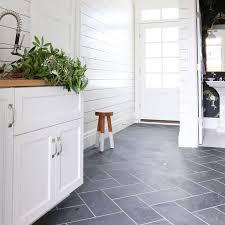 Grey Slate Tile Bathroom Best 25 Slate Tile Floors Ideas On Pinterest Slate Tiles Slate