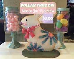 Decorating With Mason Jars For Easter by 3 00 Dollar Tree Diy Mason Jar Pedestals Easter 2016 Youtube