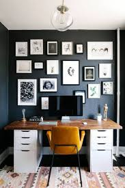 dark walls 25 gorgeous home offices with black walls digsdigs