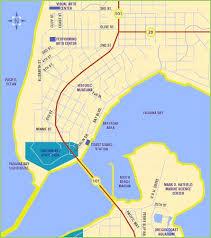 visit newport on the oregon coast area map