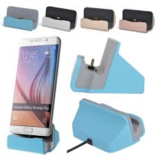 Phone Charging Stand by Micro Usb Dock Station Charger Data Sync Desktop Charging Cradle