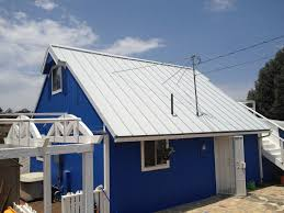 Metal Roof On Houses Pictures by Roofing Standing Seam Metal Roof Snow Stops Residential