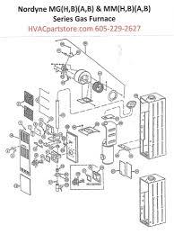 mgha056 nordyne gas furnace parts u2013 hvacpartstore