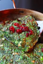 recette cuisine iranienne koukou sabzi recette nouvel an omelette aux herbes miam