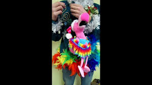 ugly christmas sweaters that light up and sing light up rainbow foofoo animated singing flamingo ugly christmas