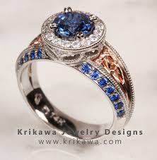 Sapphire Wedding Rings by The Ring Leader Sapphire Engagement Rings A Rainbow Of Choices
