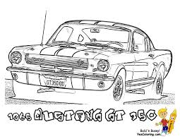 fierce car coloring ford cars free mustangs t bird car
