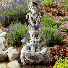 Backyard Fountains For Sale by Children And Cherubs Outdoor Fountains You U0027ll Love Wayfair