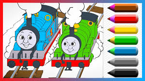 thomas percy friends coloring book learn colors coloring