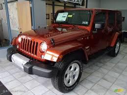 sahara jeep 2014 copperhead pearl 2014 jeep wrangler unlimited sahara 4x4 exterior