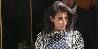 Original Hair Extensions by Kim Kardashian Ditches Her Hair Extensions In Paris Huffpost