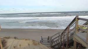 erosion closes beach access on outer cape cod youtube