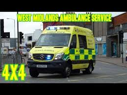 mercedes road service midlands ambulance road 4x4 mercedes sprinter responding