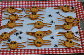hgtv halloween block party 2017 halloween party food spooky goat cheese fingers hgtv halloween