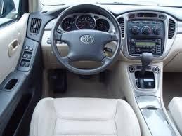 Toyota Highlander Interior Dimensions 2003 Toyota Highlander 3 0l V6 4wd Hubpages