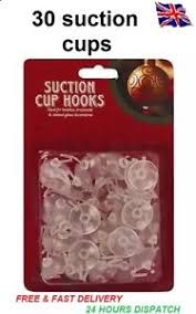 christmas light suction cups 30 suction cups with plastic hooks for windows decorations christmas