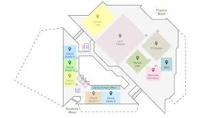 Dance Studio Floor Plan Location By Google Map Venue Hkapa