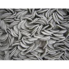 Silver Shag Rug Felted Wool Shag Rug Wayfair