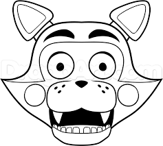 toy bonnie coloring pages alltoys for