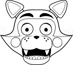 fnaf coloring pages marionette alltoys for