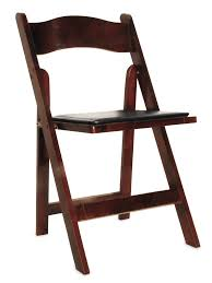 folding chair rental mahogany folding ooh events design center