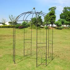 amazon com outour 4 sided birdcage shape metal gazebo trellis