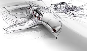 amg gt official sketch interior indian autos blog