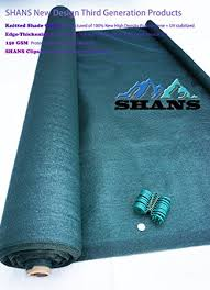 Patio Cover Shade Cloth by Amazon Com Shans New Design 90 Heavy Shade Cloth With Clips