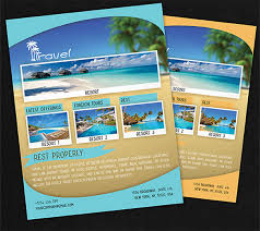 travel and tourism brochure templates free travel agency brochure template travel flyer template 43 free psd