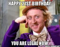 21st Birthday Meme - happy 21st birthday wishes quotes images meme happy wishes