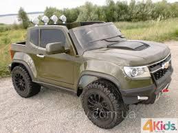 chevy colorado green детский электромобиль chevy colorado 4x4 ft 1602 eva 2 4g 9 км