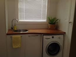 Bathroom Laundry Room Ideas by My Laundry Recycled Timber Bench Made From Old Railway Sleepers