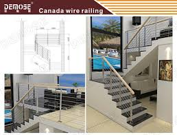 Interior Cable Railing Kit Outdoor Stair Railing Kit Stainless Steel Cable Railing Systems